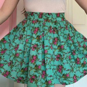 🛍 Floral A line skirt